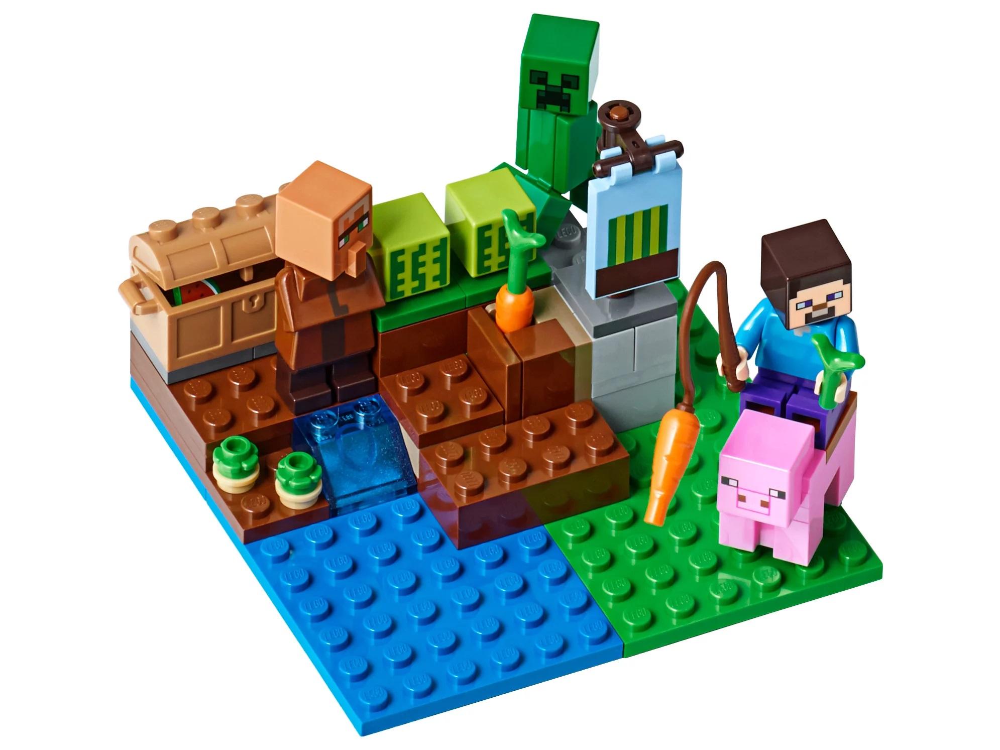 лего майнкрафт ферма купить в москве