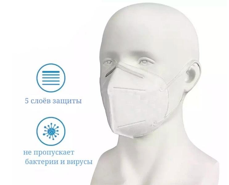 защитная маска kn95 купить в Москве