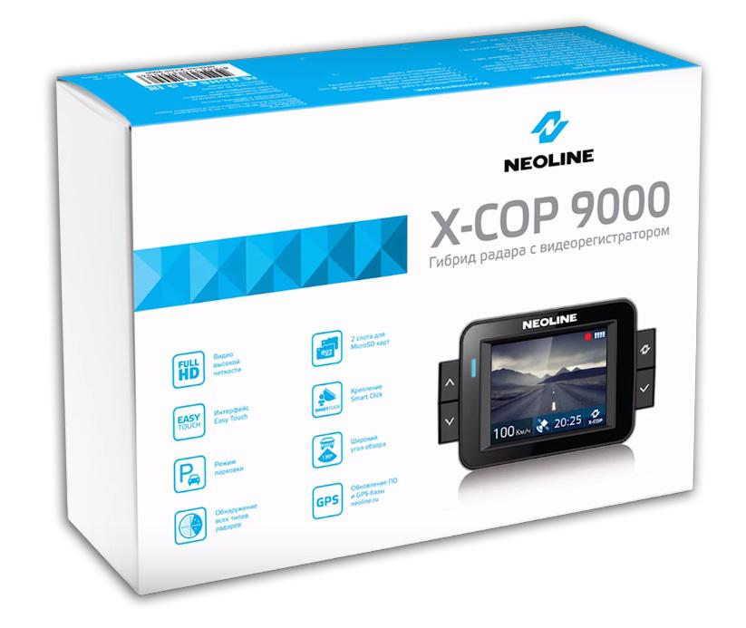 Видеорегистратор Neoline X-COP 9000 C - фото 9